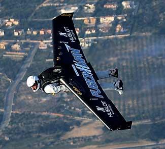 Fusionman volera mercredi près du détroit de Gibraltar.